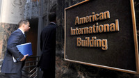 Manhattan: The headquarters of American International Group Inc. (AIG).