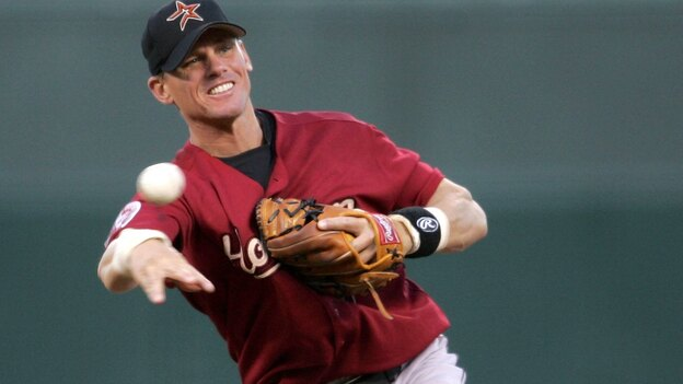 Craig Biggio of the Houston Astros led the 2013 Hall of Fame voting, but fell short of the 75 percent required for induction in Cooperstown. No players were chosen in the balloting. (Getty Images)