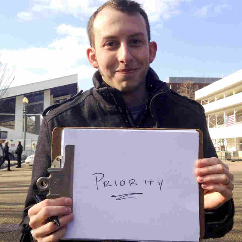 Ross Mittiga from Charlottesville, Va., shares what he wants President Obama to focus on in his second term.