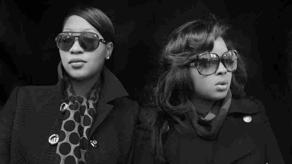 Terri Walker (left) and Nicole Wray, whose album, Lady, will be out on March 11.
