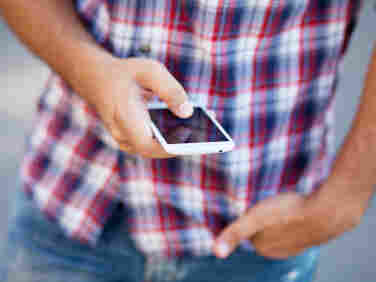 Some 23 percent of those aged 12-17 say they have a smartphone, according to the Pew Internet and American Life Project.