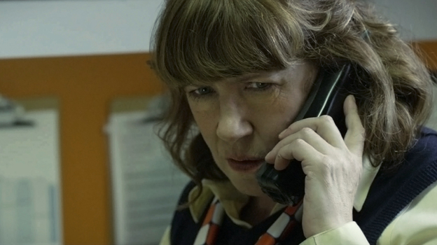Ann Dowd plays Sandra, a hard-nosed Midwestern manager of a fast-food franchise in Compliance. The actress spent $13,000 to try to get an Oscar nomination for the role. (Magnolia Pictures)