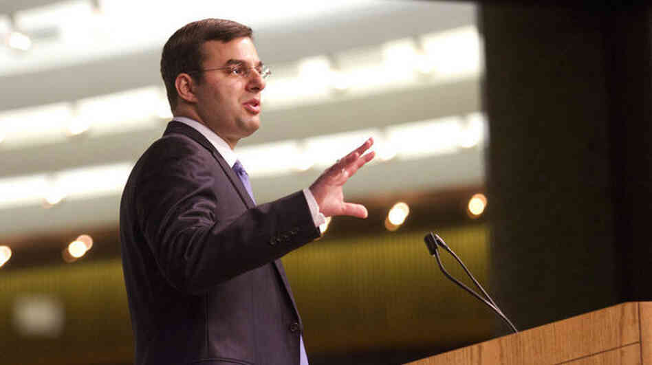Rep. Justin Amash, R-Mich., holds a town hall meeting Wednesday at the Gerald R. Ford Presidenti