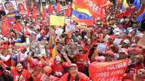 Hugo Chavez Misses Inauguration Day, But Supporters Fill The Streets