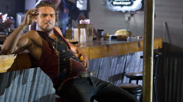 As leader of the murderous Oodie brothers, Brick (Clayne Crawford) takes care to target only the worst criminals in the Deep South.