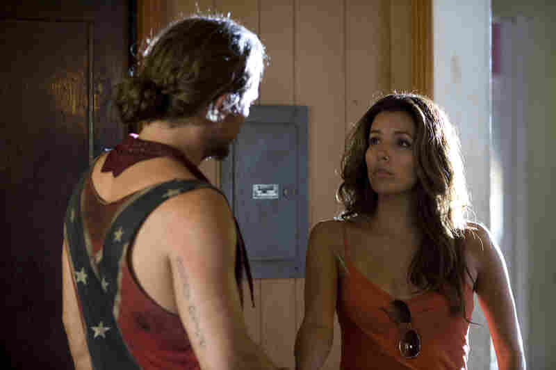 Celeste (Eva Longoria) hires Brick and his brothers to rescue her young godson — but her motives will turn out to involve more than mere godmotherly concern.