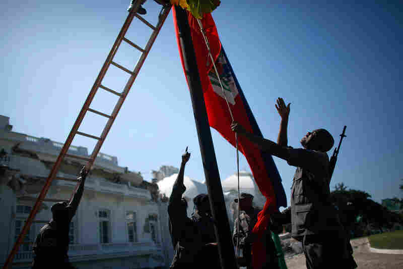 The National Palace in Port-au-Prince, Haiti, Jan. 21, 2010.