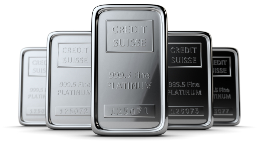 It would take about 617 million of these one-ounce platinum bars to make a coin that contains $1 trillion worth of platinum.