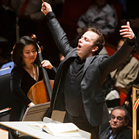 Yannick Nézet-Séguin took over the Philadelphia Orchestra at the start of this season.