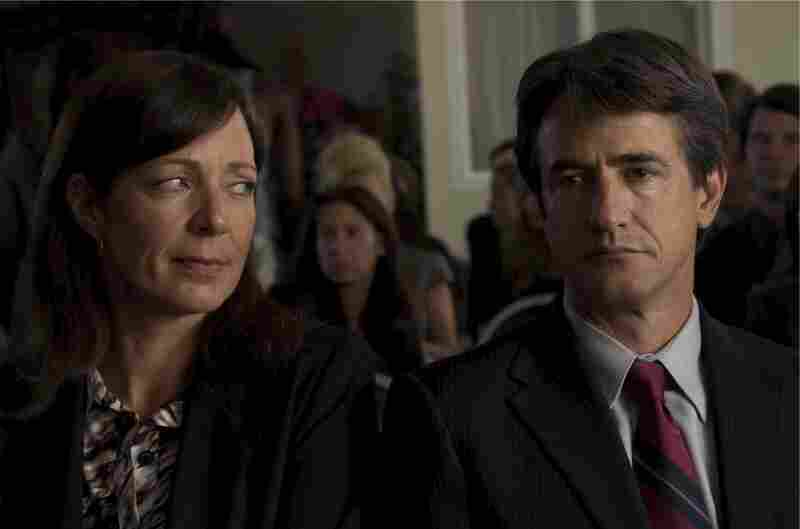 Sheryl (Allison Janney) is too focused on her flighty ex-husband, Neal (Dermot Mulroney), to properly parent her son.