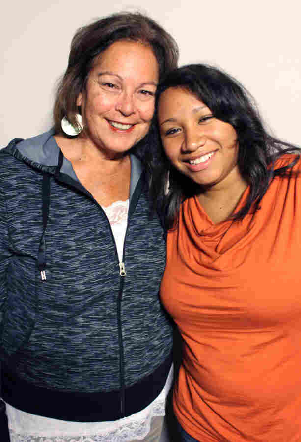 Diane Tells His Name, 61, grew up unaware of her Native American identity. When she discovered the truth in her late 30s, she adopted a child from her Lakota tribe, Bonnie Buchanan.