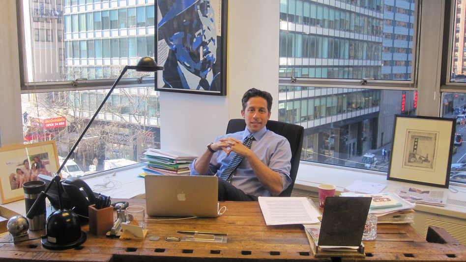 Jeremy Kroll runs K2 Intelligence, an investigative firm in Midtown Manhattan that specializes in corporate monitoring. (NPR)