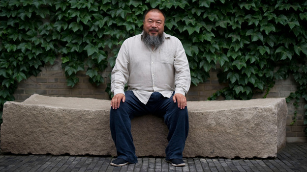 Chinese artist Ai Weiwei in June 2012. (AFP/Getty Images)