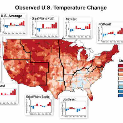 U.S. Will Be 2-4 Degrees Hotter In Coming Decades, New Climate Report Says