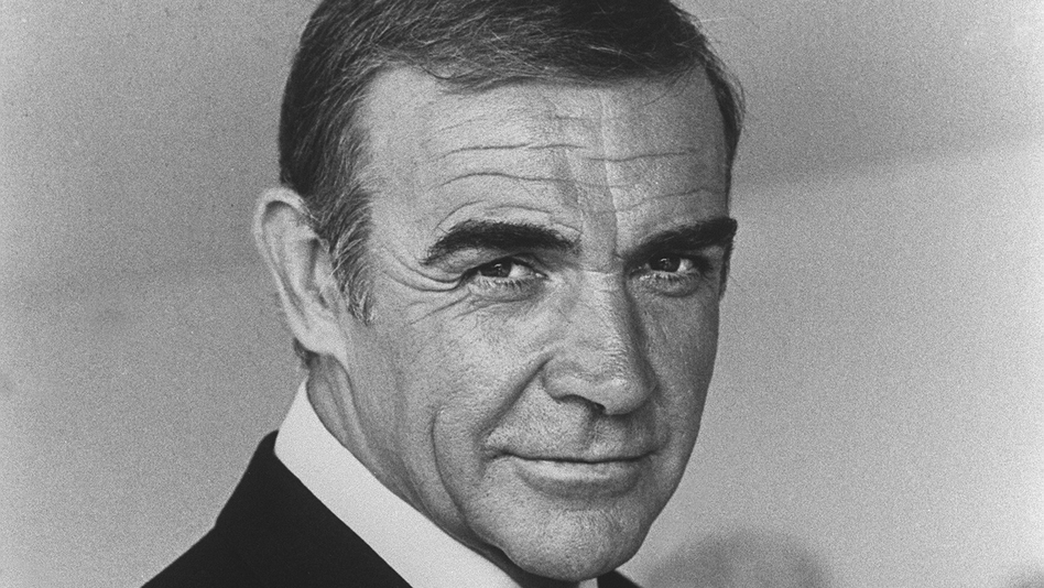Scottish actor Sean Connery is seen in 1982 during the making of the film Never Say Never Again. (AFP/Getty Images)
