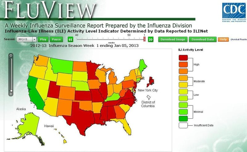 Feeling Miserable? You're Not Alone, And The Flu Epidemic ... on cdc flu pamphlet, cdc swine flu, cdc flu update, cdc flu flyers, cdc flu view, cdc flu shot, cdc flu table, cdc flu map,