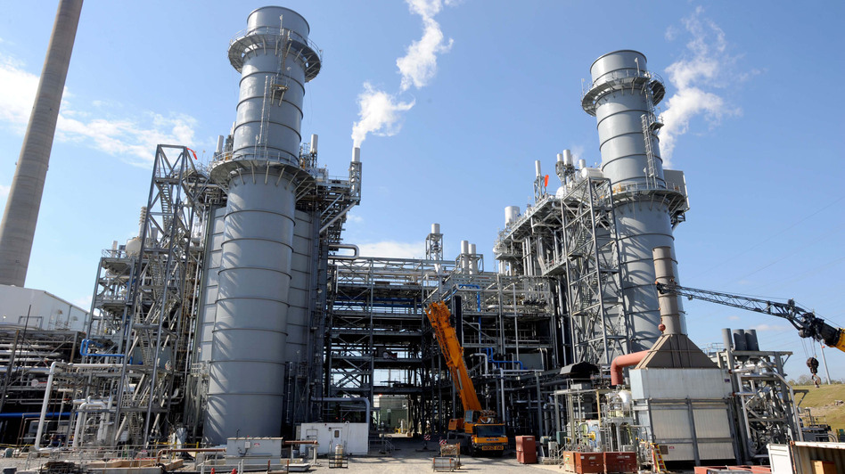 Georgia Power's Plant McDonough-Atkinson was converted to natural gas from coal. The facility produces enough electricity to power 625,000 homes. (AP)