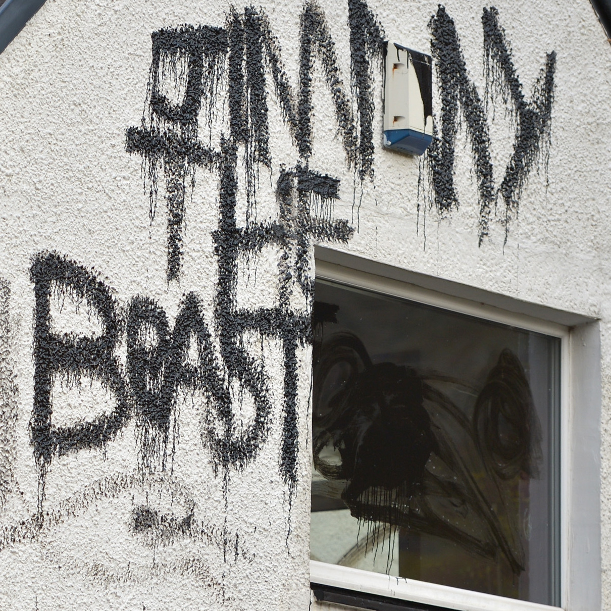 "After accusations of sexual abuse against late TV personality Jimmy Savile became public last October, messages were spray-painted on his Scottish cottage, calling him a ""beast."" Police say the house was one of ""the main premises"" where the abuses took place."