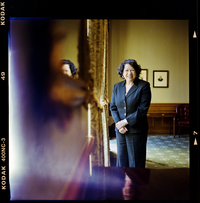 Supreme Court Justice Sonia Sotomayor spoke with NPR in December at the Supreme Court.