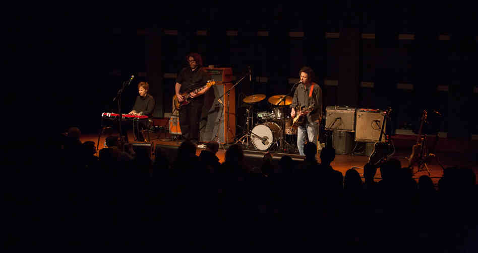 Yo La Tengo performed five songs from their upcoming album, Fade, at World Cafe Live on Friday, Jan. 11, 2013.