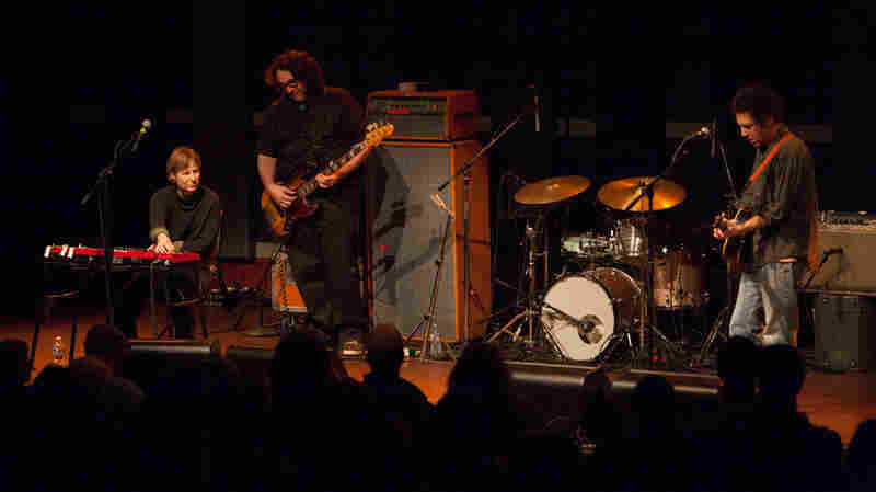 From left, Georgia Hubley, James McNew and Ira Kaplan of Yo La Tengo.