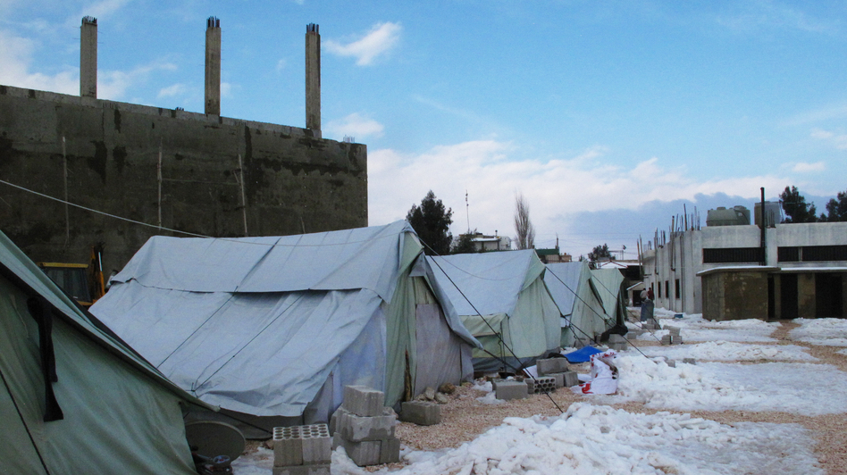 Some of the worst winter weather in decades is making life even more difficult for the residents of the al-Marj refugee camp. Some Syrians who fled violence and shelling say after living in such harsh conditions, they wish they could go back. (NPR)