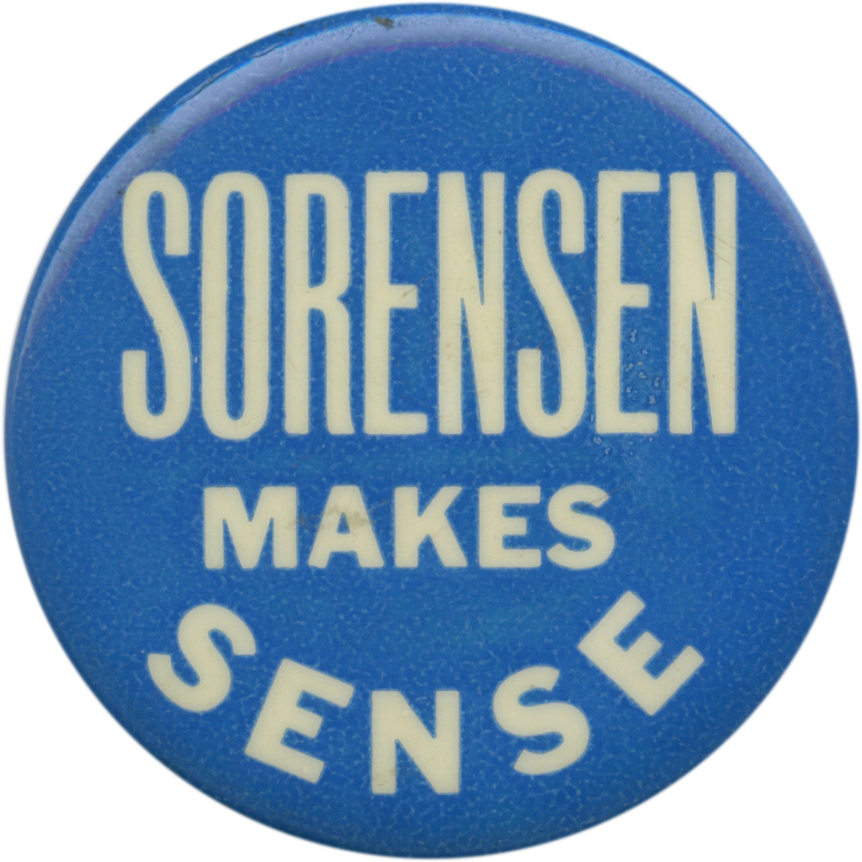 Sorensen sought the Dem Senate nod from N.Y. in 1970. (Ken Rudin collection)