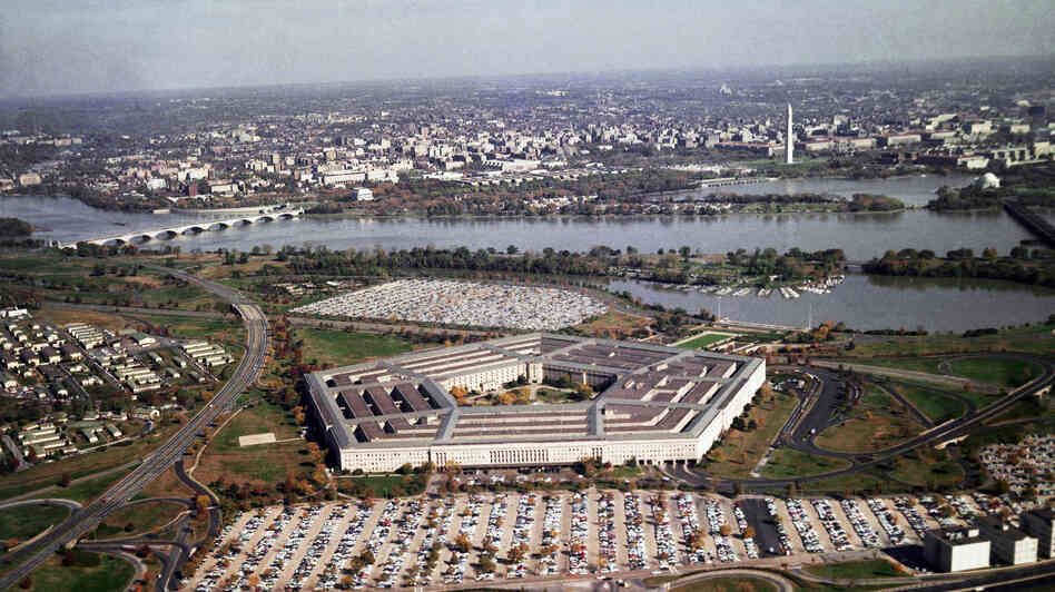 The Pentagon, headquarters for the U.S. Department of Defense, Army, Navy, Air Force, and Joint Chiefs of Staff, in Arlington, Va. Looming budget cuts could mean an uncertain future for the size of U.S. military forces.