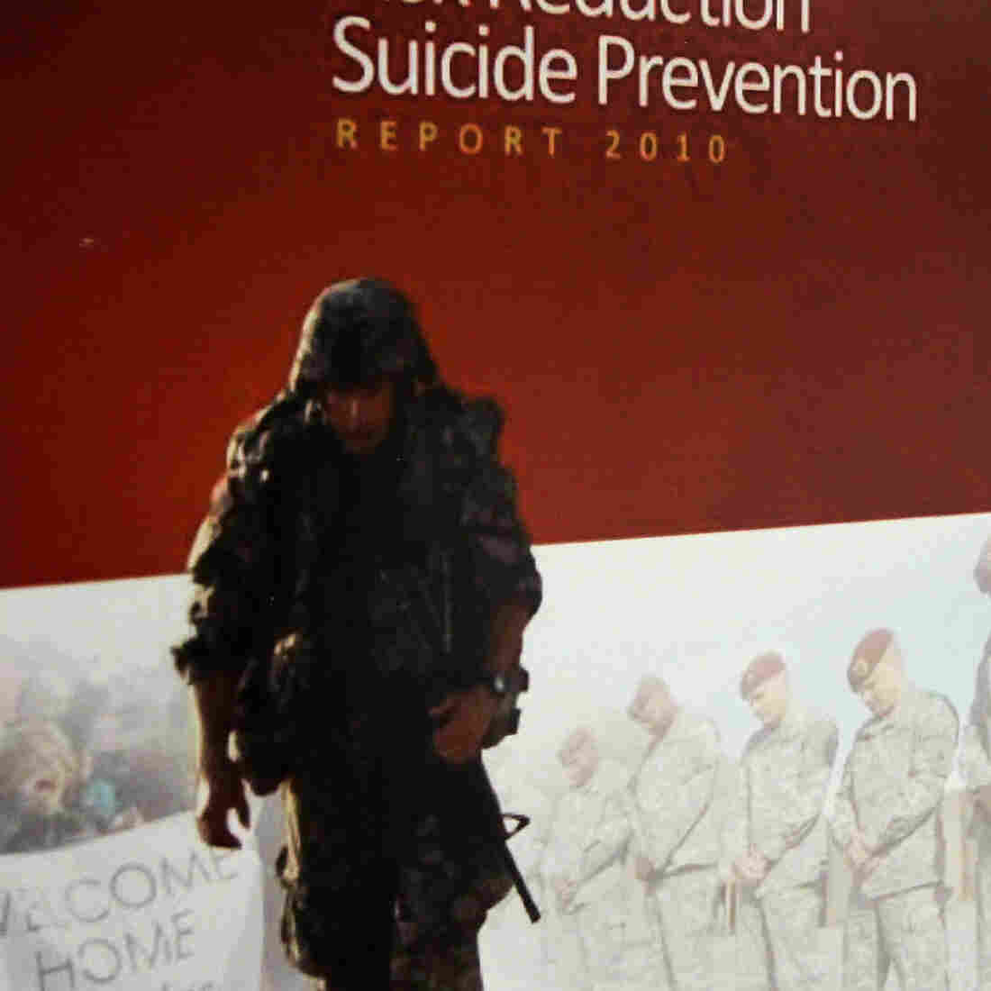 U.S. Military's Suicide Rate Surpassed Combat Deaths In 2012