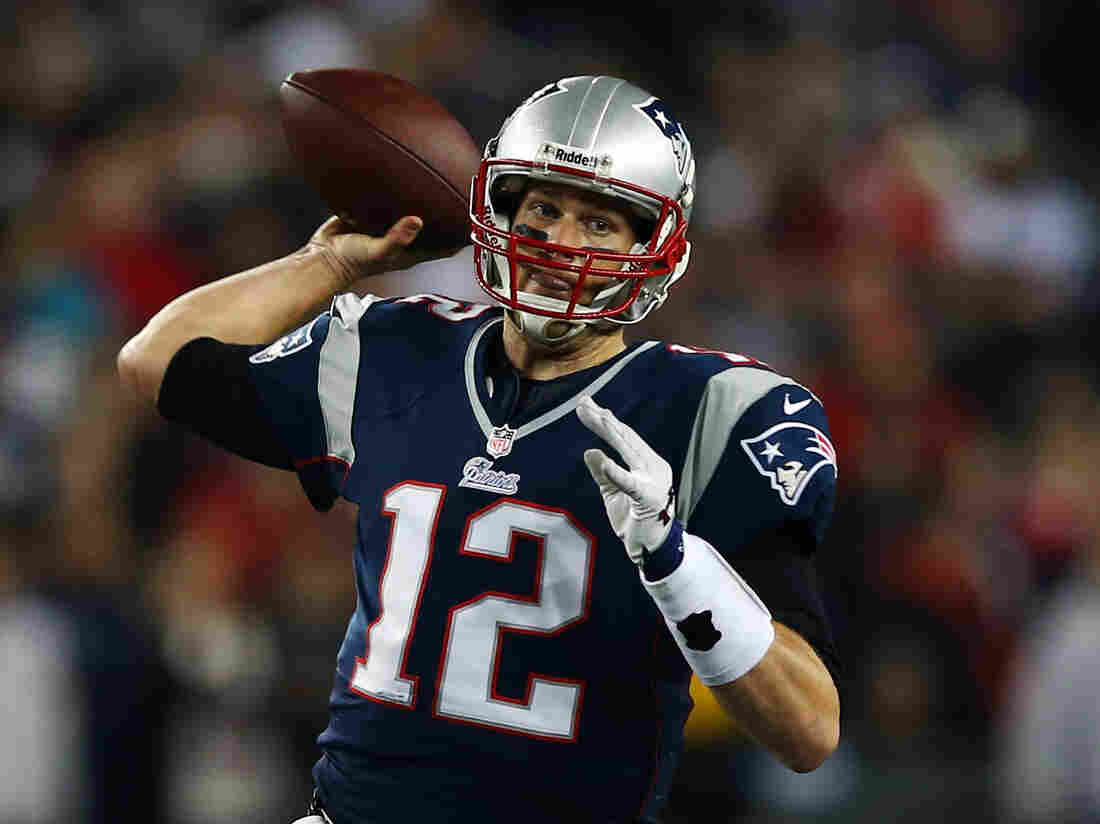 New England Patriots quarterback Tom Brady. His team beat the Houston Texans on Sunday and will go up against the Baltimore Ravens in next week's AFC championship game.