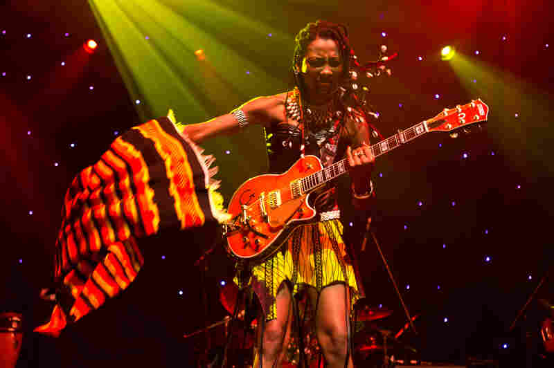 This year marked the 10th anniversary of globalFEST, which features musicians on three stages in New York City's Webster Hall. The festival has become renowned for featuring a diverse lineup of up and coming musicians, including Malian singer-songwriter Fatoumata Diawara.