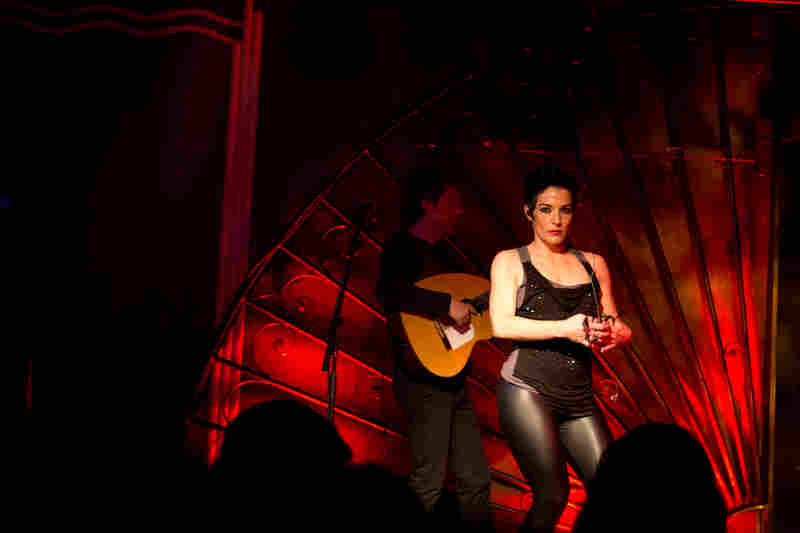 Flamenco fusion filled the night in Webster Hall's Marlin Room. La Shica brought traditional flamenco dance to the stage, along with bursts of rock and hip-hop in her smooth vocals.