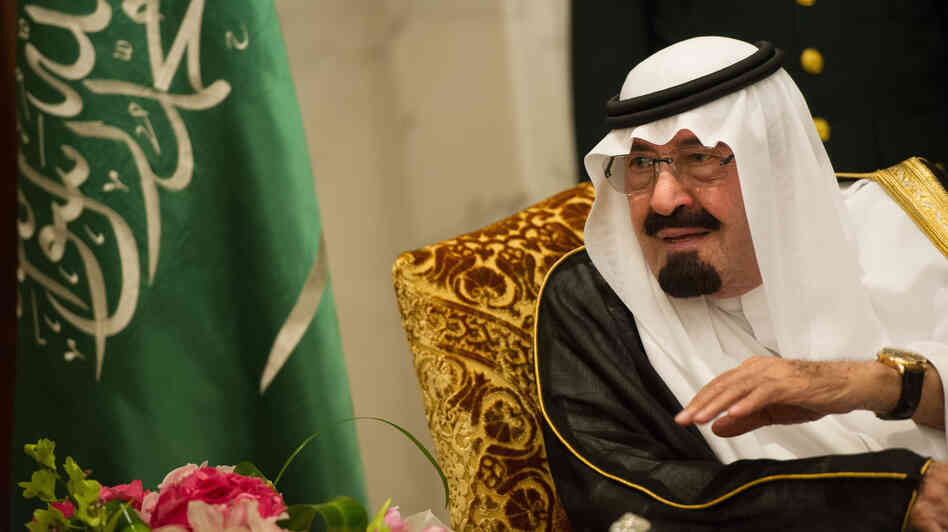 Saudi Arabia's King Abdullah, shown last November, has appointed women for the first time to a top advisory body. But in a country where the sexes are strictly segregated, the women will meet in a separate room from the men.