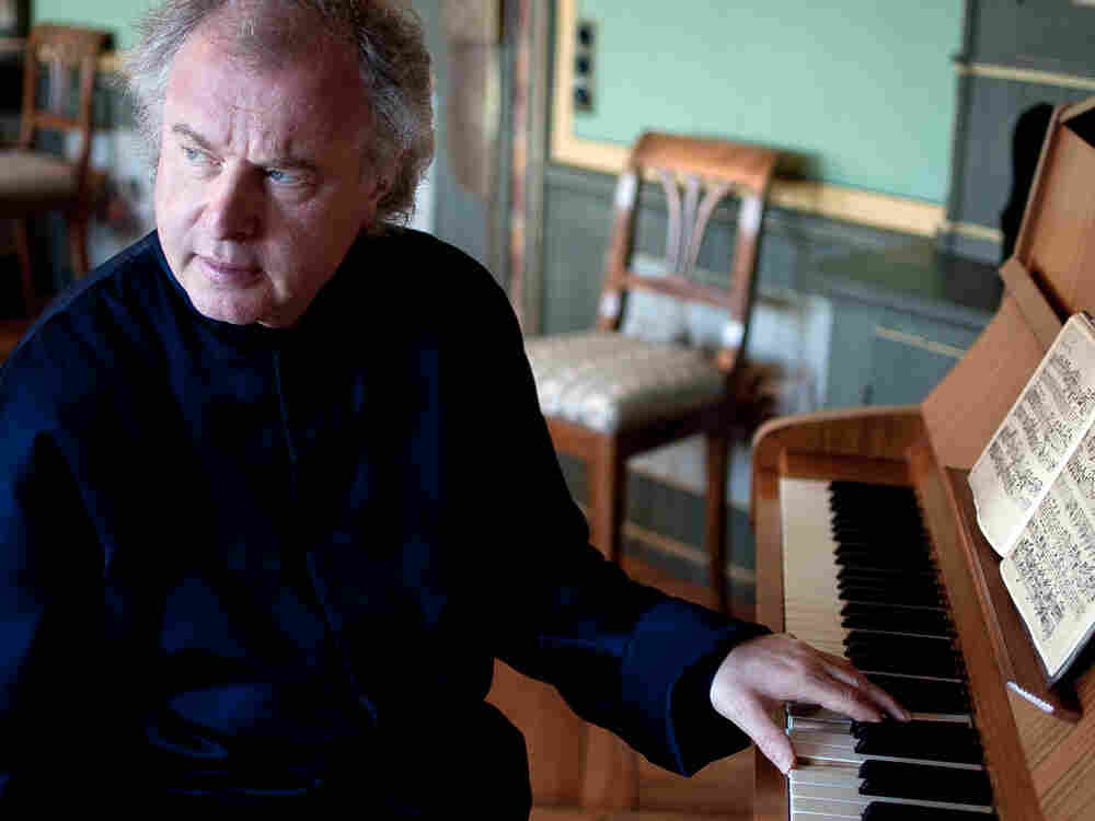 """Andras Schiff plays Bach for about an hour every morning. """"There is something very pure about it,"""" the pianist says."""