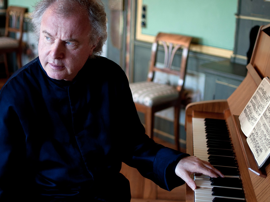 Andras Schiff plays Bach for about an hour every morning.