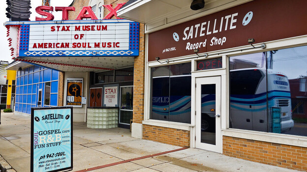 The Stax Records recording studio in Memphis, Tenn. (Courtesy of Andy Modla Photography)
