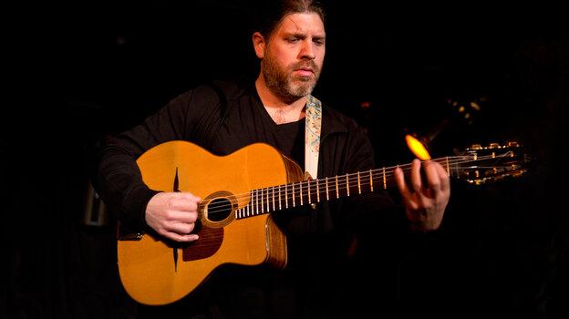 Guitarist Stephane Wrembel performs live at globalFEST 2013.
