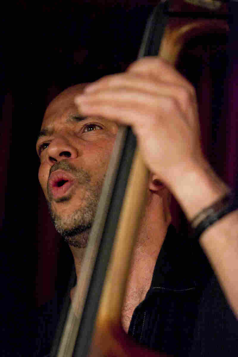 Bassist Eric Revis assembled a trio with pianist Kris Davis and drummer Andrew Cyrille.