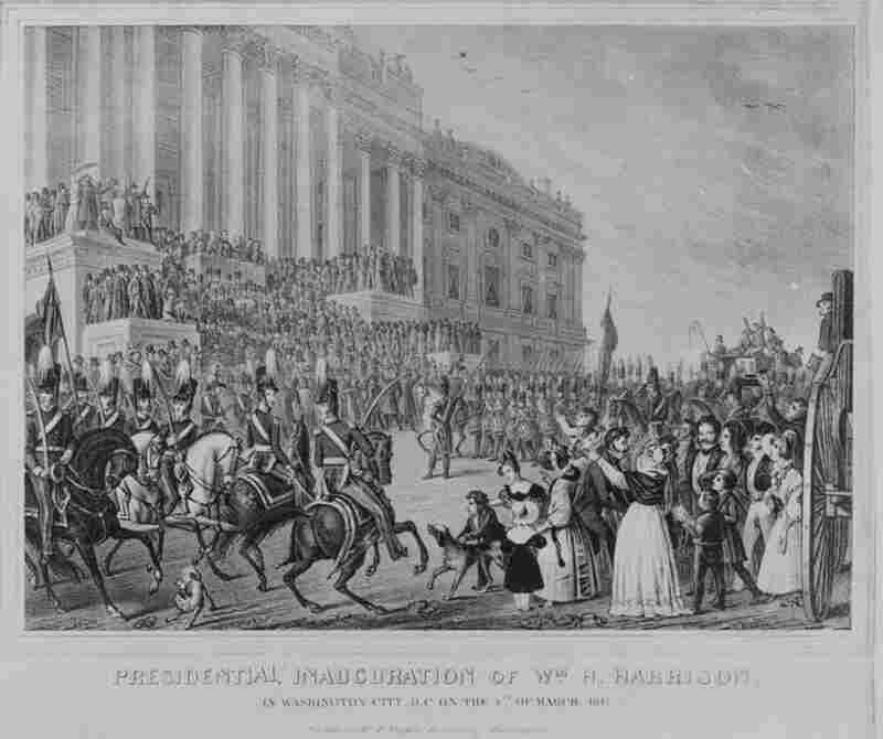 March 4, 1841: William H. Harrison, the first president to arrive in Washington by train, delivered the longest inaugural address in history. He delivered a 90-minute speech in a snowstorm. The