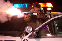 Sheriff's deputy Mike Figuerola (Luis Guzman) is Schwarzenegger's laid-back comrade in arms in the sleepy border town of Sommerton Junction.
