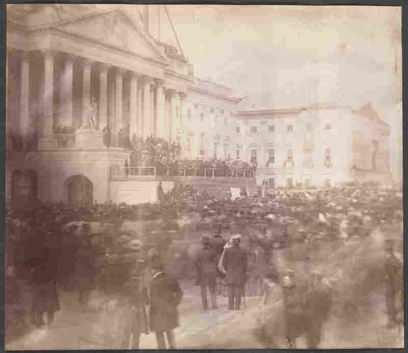 March 4, 1857: James Buchanan's inauguration was the first known to be photographed.