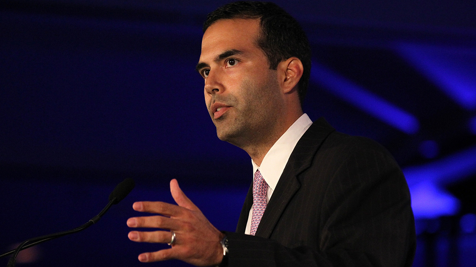 George P. Bush speaks during the 2011 Republican Leadership Conference in New Orleans. (Getty Images)