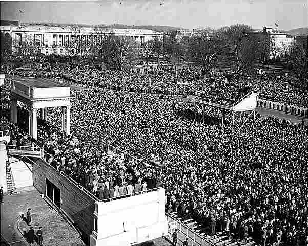 Jan. 20, 1949: Harry S. Truman's inauguration was the first to be televised.