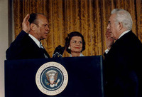 Following the resignation of Richard Nixon on Aug. 9, 1974, Gerald Ford, who had been appointed vice president, became the first U.S. president never to have won a national election.