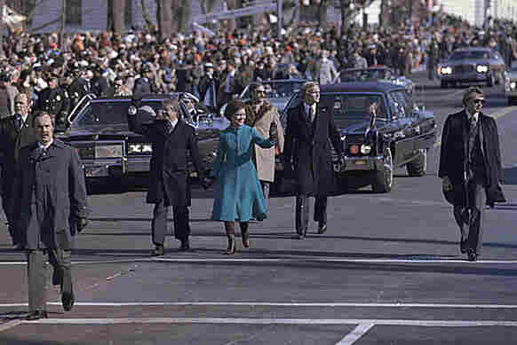 Jan. 20, 1977: Jimmy Carter was the first president to walk from the Capitol to the White House with his family after his inauguration.