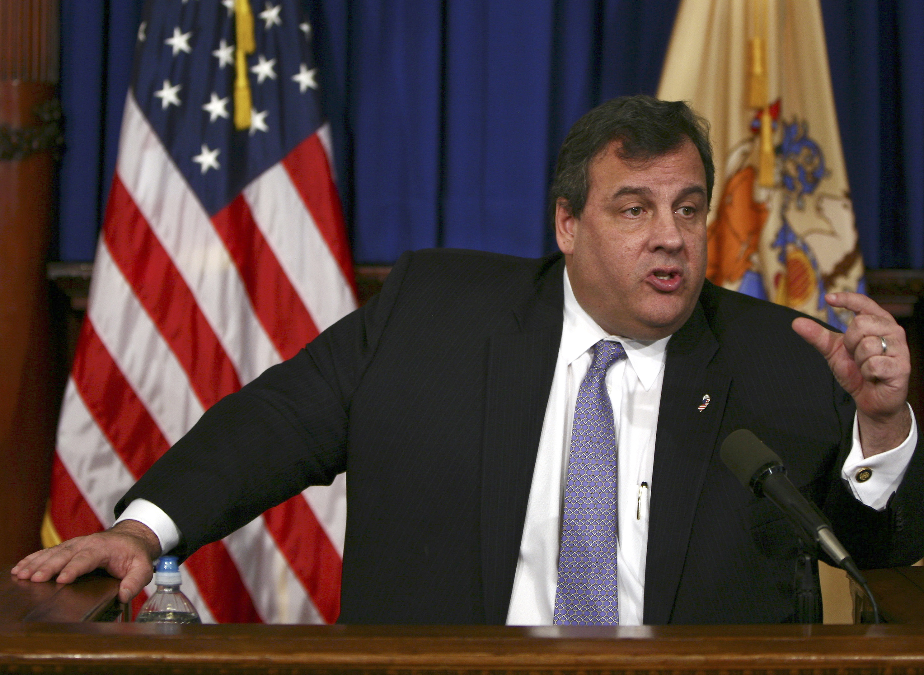 "New Jersey Gov. Chris Christie blasted his party's ""toxic internal politics"" after House Republicans initially failed to vote on disaster relief for victims of Superstorm Sandy."