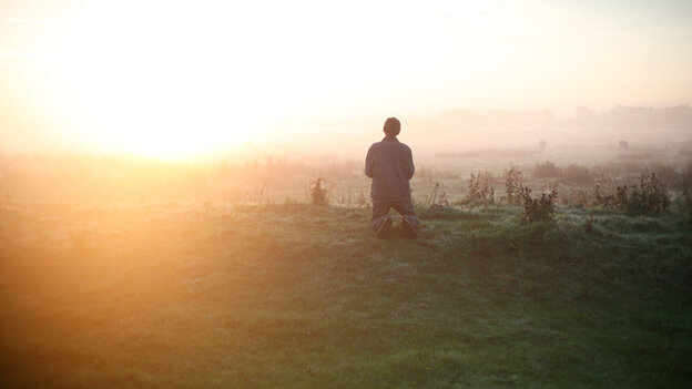 In Bruno Dumont's Hors Satan, the unnamed Guy (David Dewaele) turns to nature for solace and spiritual comfort.
