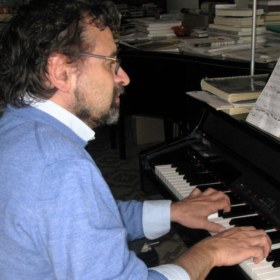 Italian musicologist Francesco Lotoro is on a decades-long mission to find and resurrect music composed by prisoners at camps before and during World War II. Here, he plays music in his home in Barletta, southern Italy.