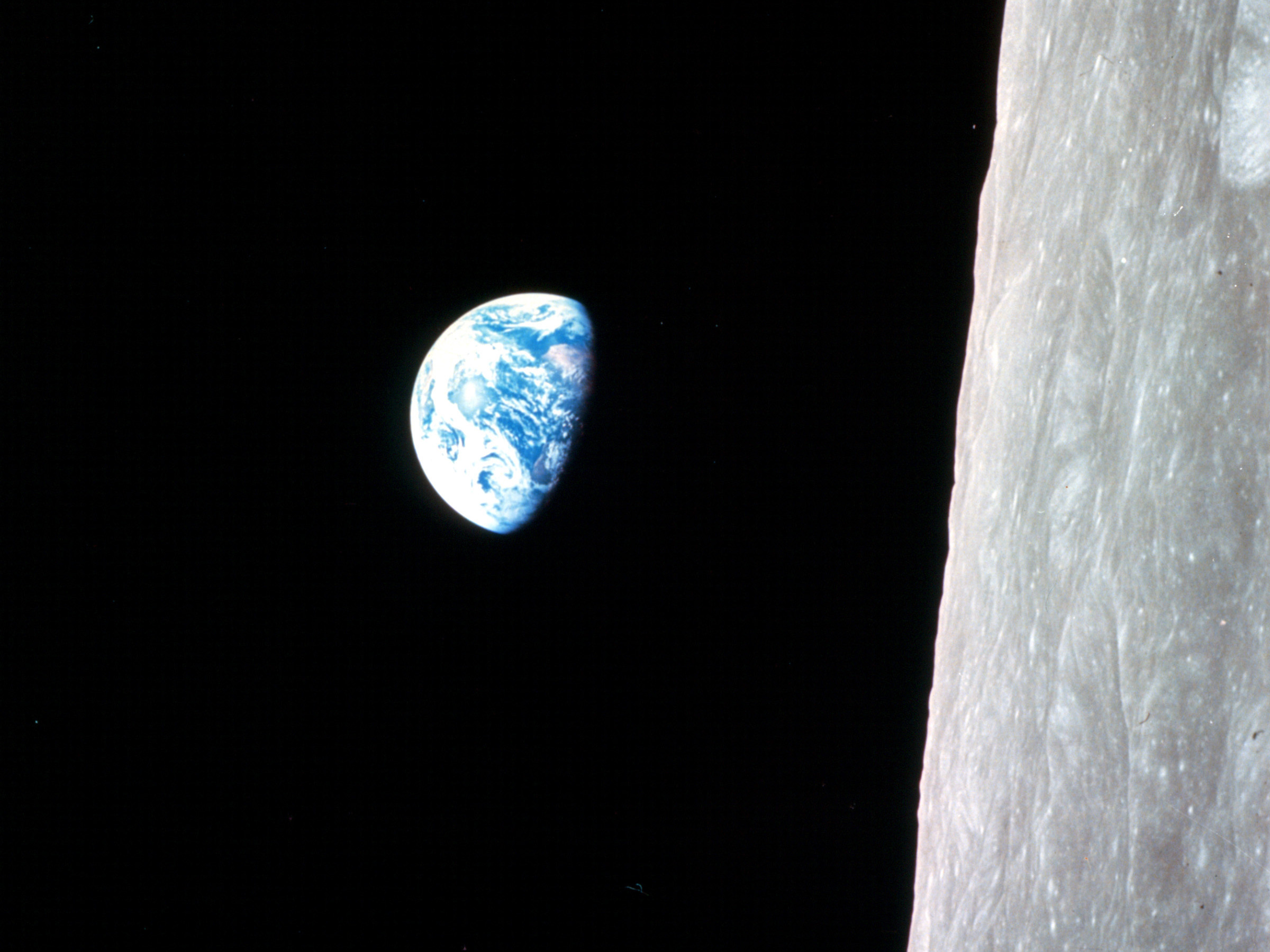 earthrise from moon apollo - photo #25