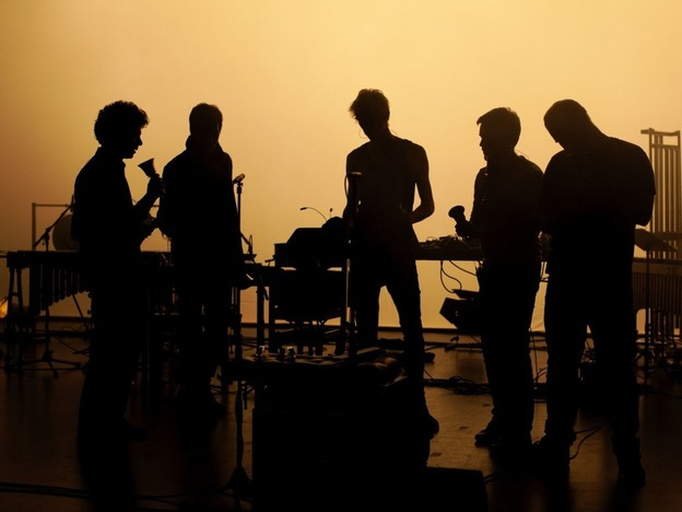 Pantha du Prince collaborates with the percussion ensemble The Bell Laboratory on <em>Elements of Light</em>.